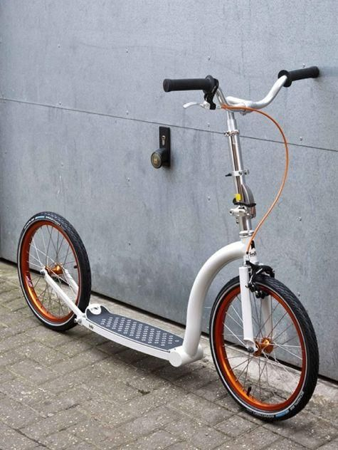 Swifty Scooters! for adults...! I want this. I loved my scooter as a kid!