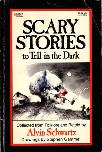 I can remember a few scary stories from this book. Anyone else remember it?