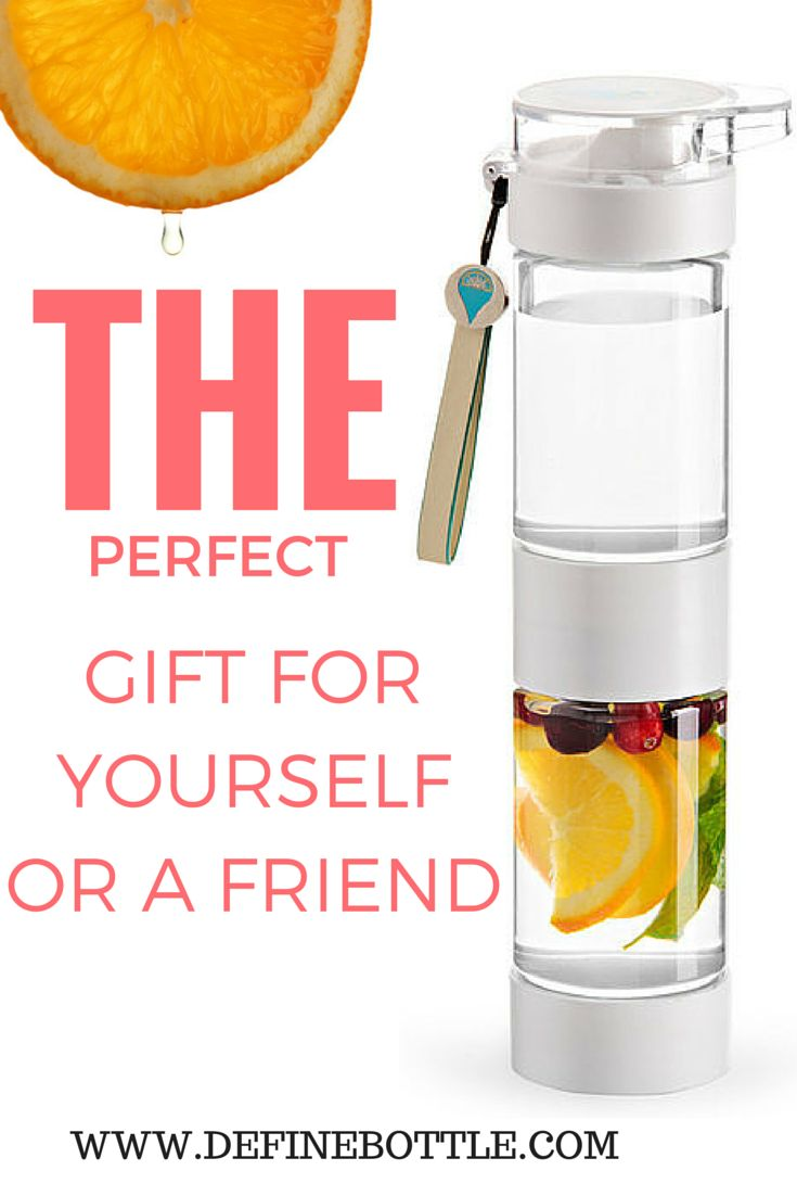 Cool off this summer with natural fruit infused water to go. Treat yourself, or a friend, to a Define Bottle!