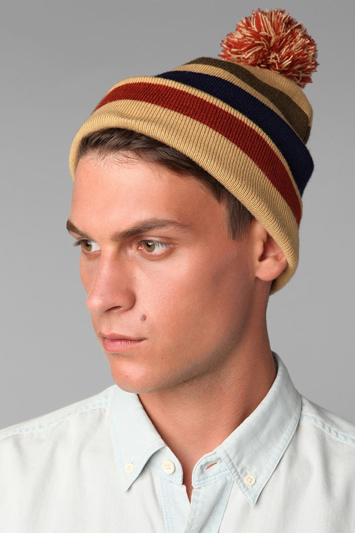 Pom it! #urbanoutfitters #beanie: Beanie Urbanoutfitt, Pom Beanie, Urbanoutfitt Beanie, Fashion Clothing, Stripes Pom, Olives Stripes, Favorietjes Voor, Collection Olives,  Poke Bonnets