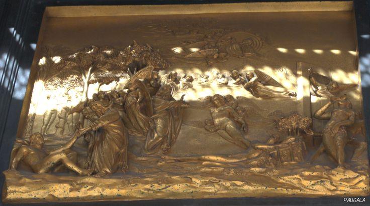 Florencia. Italia. Puerta del Paraiso. 1425-1452. Lorenzo Ghiberti.