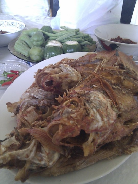 Typical lunch @ Ciamis