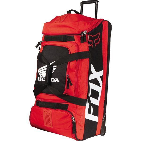 Fox Racing Shuttle 180 Honda Wheeled Gear Bag Mx Gear