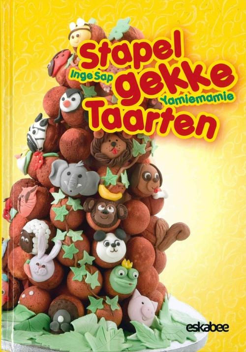 In 2011 verraste Inge Sap ons met haar originele Yollies, ludieke cakedecoraties op stokjes. Met dezelfde smakelijke creativiteit en inventiviteit gaat Yamiemamie dit keer aan de slag met Stapelgekke Taarten. Wonderbaarlijke torens van snoep, fruit en cakejes. Het perfecte alternatief voor de verjaardagstraktaties in de klas of een onweerstaanbaar blikvanger voor elke kinderfeest. Yamiemamie's Stapelgekke taarten bevat een een 20 tal stap-voor-stap beschrijvingen van stapeltaarten.