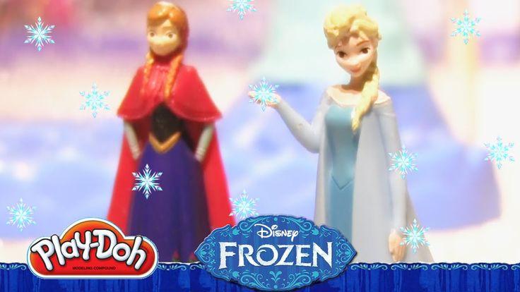 PlayDoh Disney FROZEN ❄ Sparkle Snow Dome ❄ set with Elsa Anna Olaf Sven Sparkle Castle From Rainbow Toys TV https://youtu.be/X2y8zuLkL-g?list=PLDogJfx3GEGLP5wPCY1no87EidOppjZva