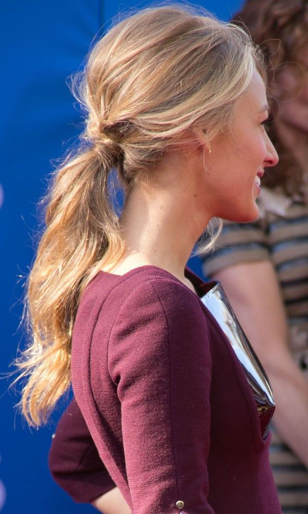 25 Best Ideas About Blake Lively Ponytail On Pinterest