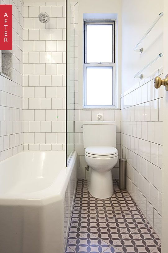 before after a tiny vintage bathroom gets a fresh look from the archives greatest hits - Small Bathroom Ideas Apartment Therapy
