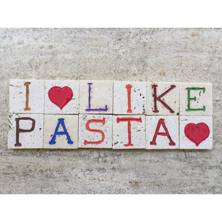 I Like Pasta, Conceptual Composition On Photograph