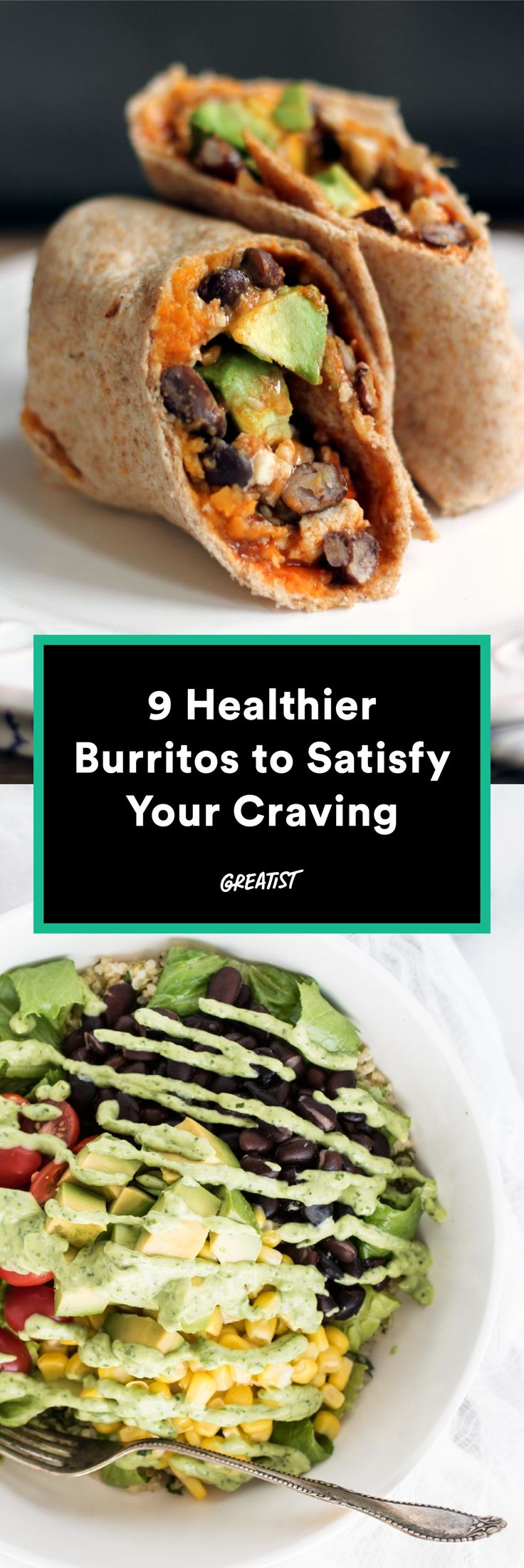 Think beyond the tortilla. #burrito #recipes http://greatist.com/eat/burrito-recipes-that-are-actually-healthy