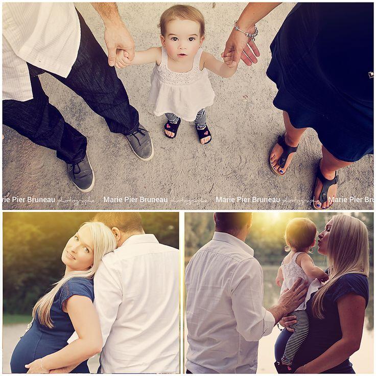 Belle famille. Séance photo maternité. Grande soeur ...