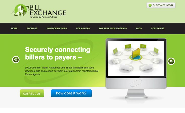 Bill Exchange Website with CMS Creative Clarity