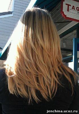 стрижка градуированная на длинные волосы - Поиск в Google