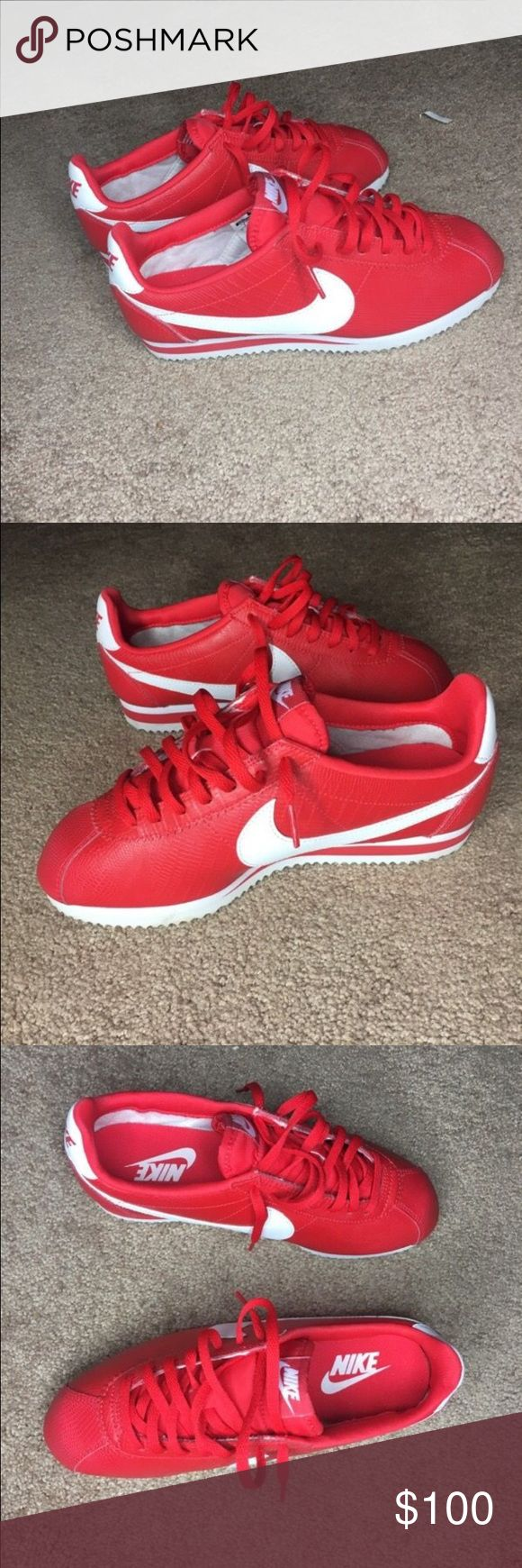 NIKE CLASSIC CORTEZ RETRO WOMENS SZ 7  Never worn  No box. Mint condition  Hit me up with best offer willing to negotiate  No trades. Nike Shoes Sneakers
