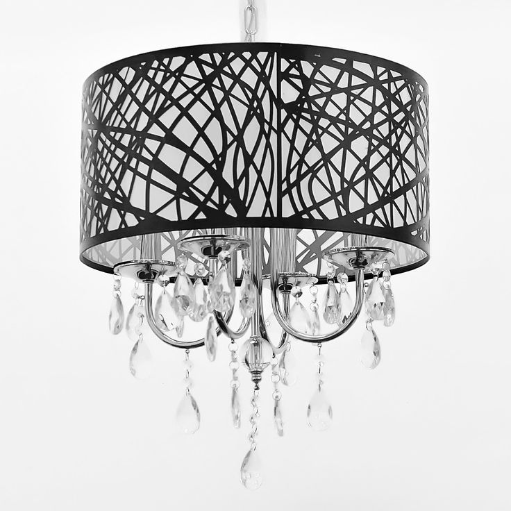 Atami 4-Light Crystal Chandelier