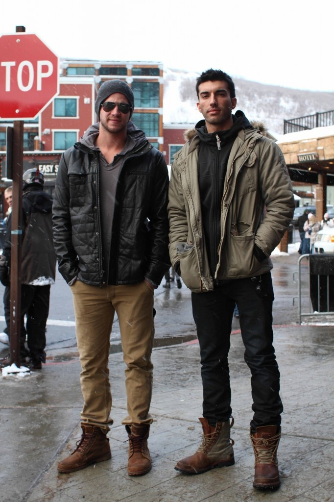 Liam Hemsworth and Paul Rudd in Timberland Earthkeepers 15551 | As seen on...Celeb Spotting ...