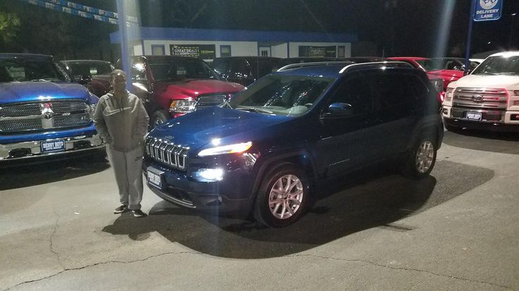 "Yvonne, wishing you many ""Miles of Smiles"" in your 2018 JEEP  CHEROKEE!  All the best, Benny Boyd Chrysler Dodge Jeep and Preston Flaniken."