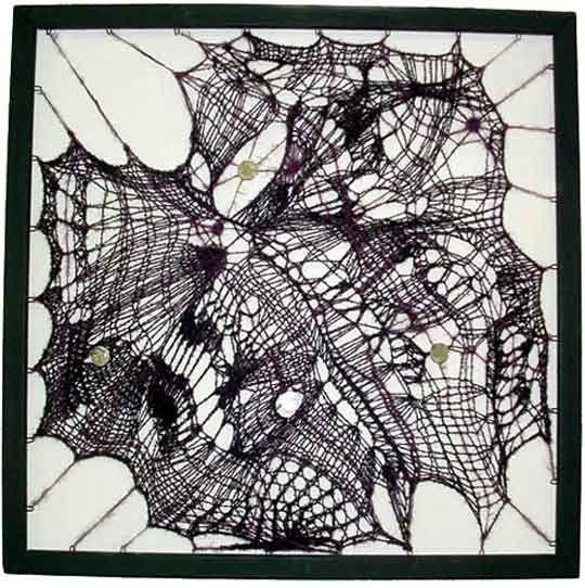 butterfly knit, Wendy Freebourne