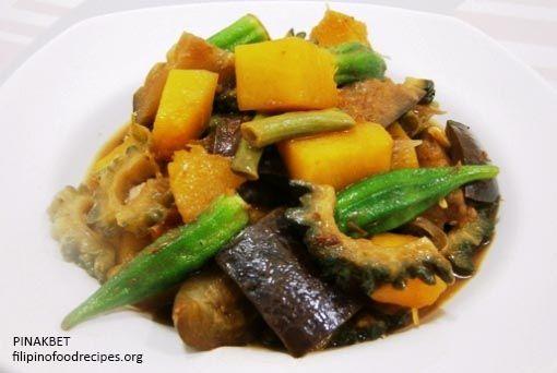 Pinakbet (Vegetables Stew) Recipe | Filipino Food Recipes.org