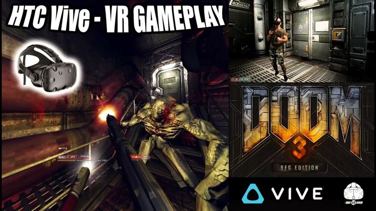 DOOM 3 BFG VR Gameplay on HTC Vive with roomscale and motion controller ... https://www.youtube.com/attribution_link?a=YN-x6PAV_5o&u=%2Fwatch%3Fv%3DrdedfzJAUl4%26feature%3Dshare