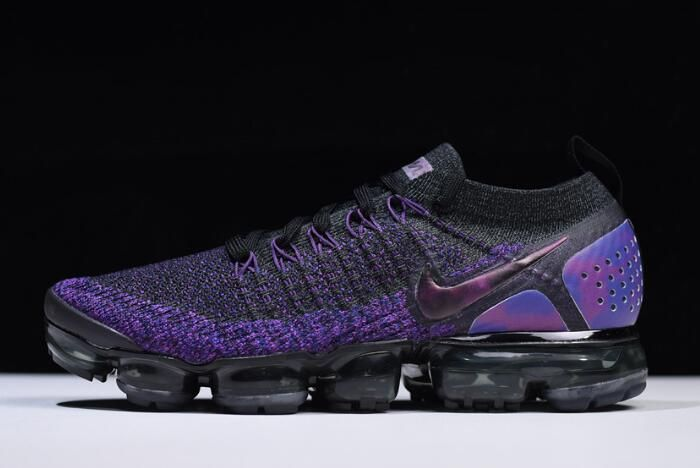 05c4bb2b543 Nike Air VaporMax Flyknit 2.0 Black Night Purple 942842-013