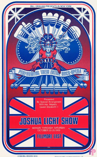 """The Who perform """"Tommy"""" at Fillmore East 1969."""