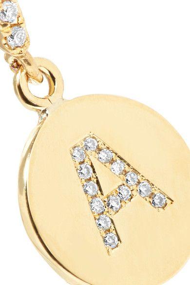 Jennifer Meyer - 18-karat Gold Diamond Earring - K