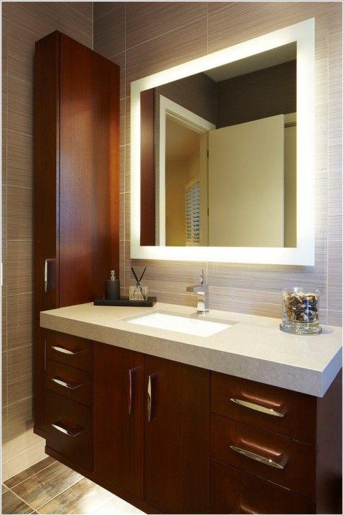 Lighted Bathroom Mirror Marvelous Home Decorating Ideas