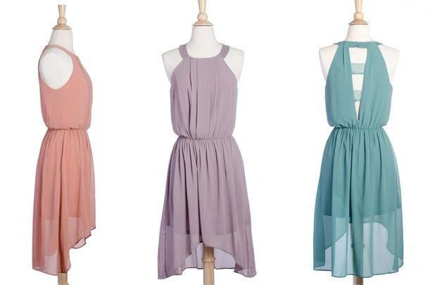 GroopDealz | Wisteria High-Low Party Dress.  Thought this might be cute for some of you skinny gals!!