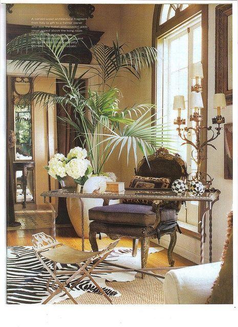 www.eyefordesignlfd.blogspot.com  Tropical British Colonial Interiors