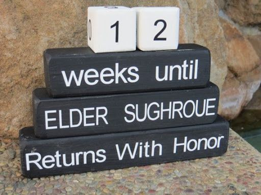 Missionary Gift Countdown Blocks Return by DaisyBlossomCreation?