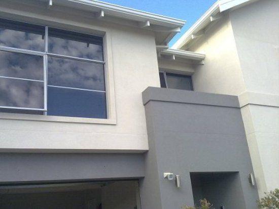 Dulux Stepney feature colour at front door
