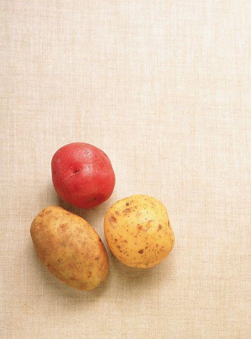Papillotes de pommes de terre et d'oignons