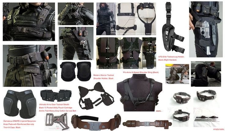 Bucky Barnes Harness : Best images about bucky barnes winter solider mcu