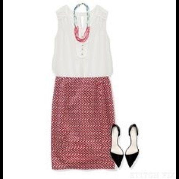 41 Hawthorn Emilia Geo Print Skirt - Love this!!!