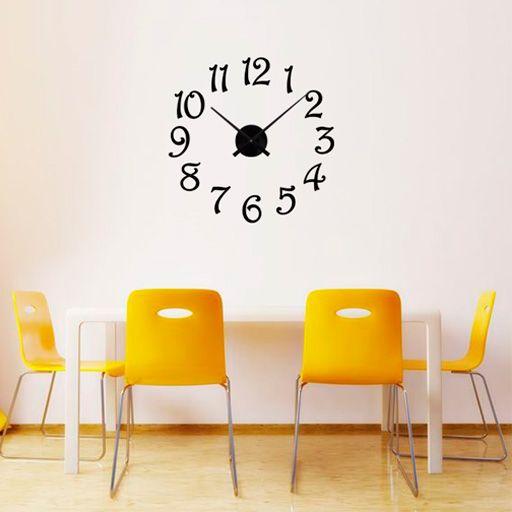 10 mejores ideas sobre relojes de pared grande en - Mecanismo reloj pared barato ...