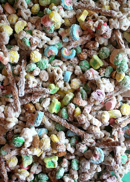 Lucky Charm Cereal Snack Mix