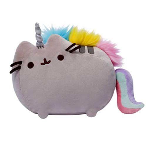 Peluche-gund-pusheenicorn-Cadeau-Jouet-Doux-crazy-cat-lady-licorne-pusheen