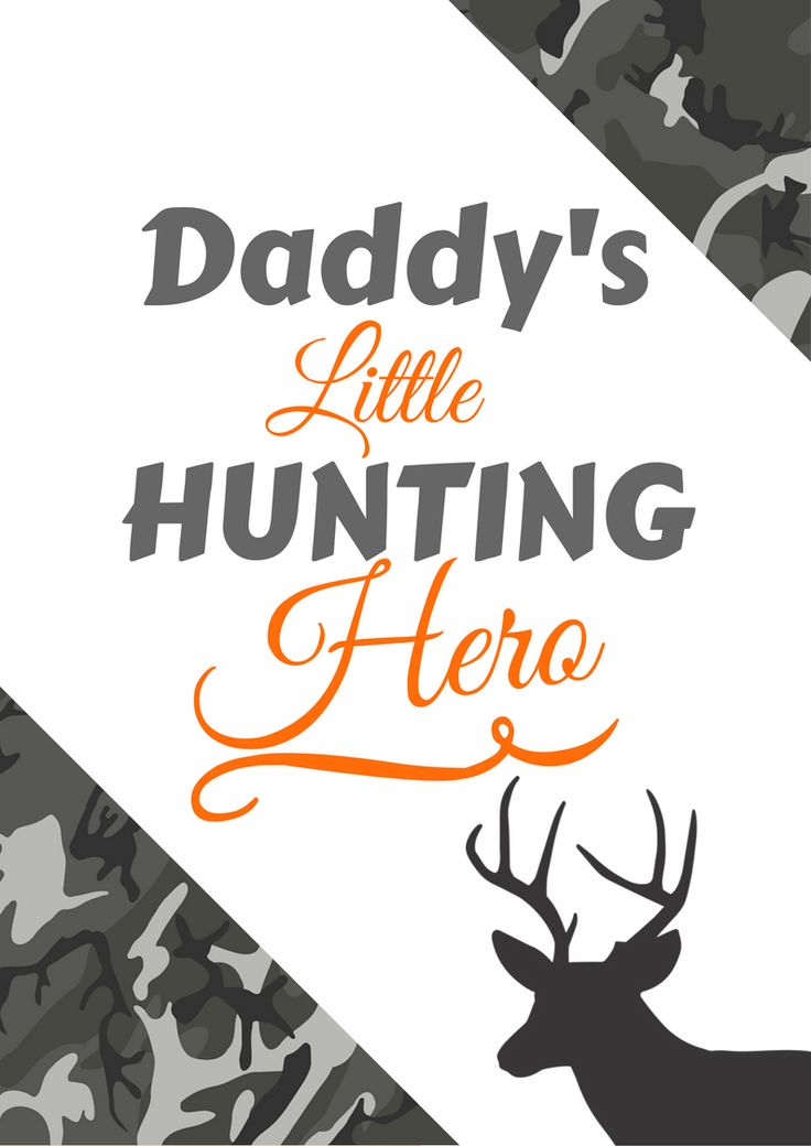 Hunting gifts for kids!   Daddy's little hunting hero
