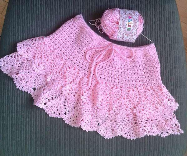 Faldas de crochet para niñas08