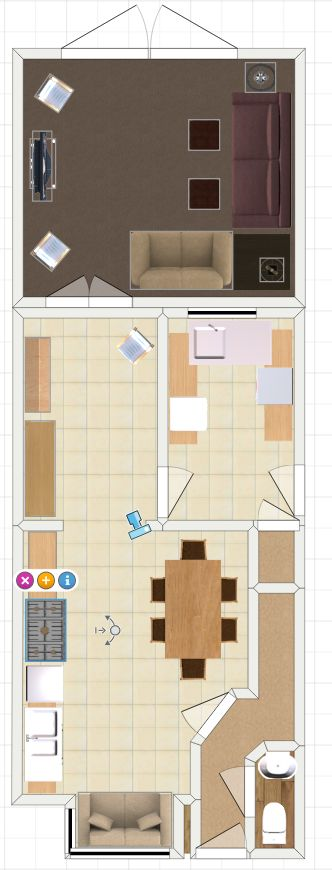 New kitchen and lounge extension plans