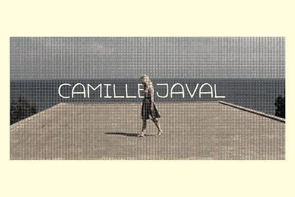 Camille Javal Font by LukerType on @creativemarket
