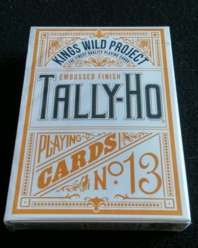 Kings Wild Project Limited Edition Tally Ho Playing Cards Rare Jackson Robinson by USPCC. Kings Wild Project Limited Edition Tally Ho Playing Cards Rare Jackson Robinson.