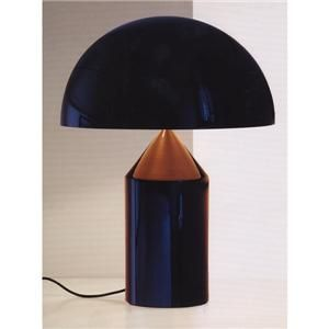 Atollo table lamp by Vico Magistretti for Oluce