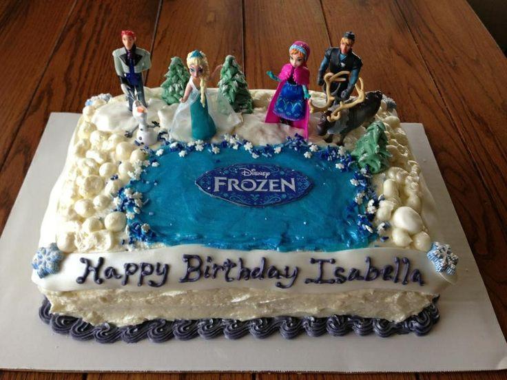 Frozen geburtstag kuchen