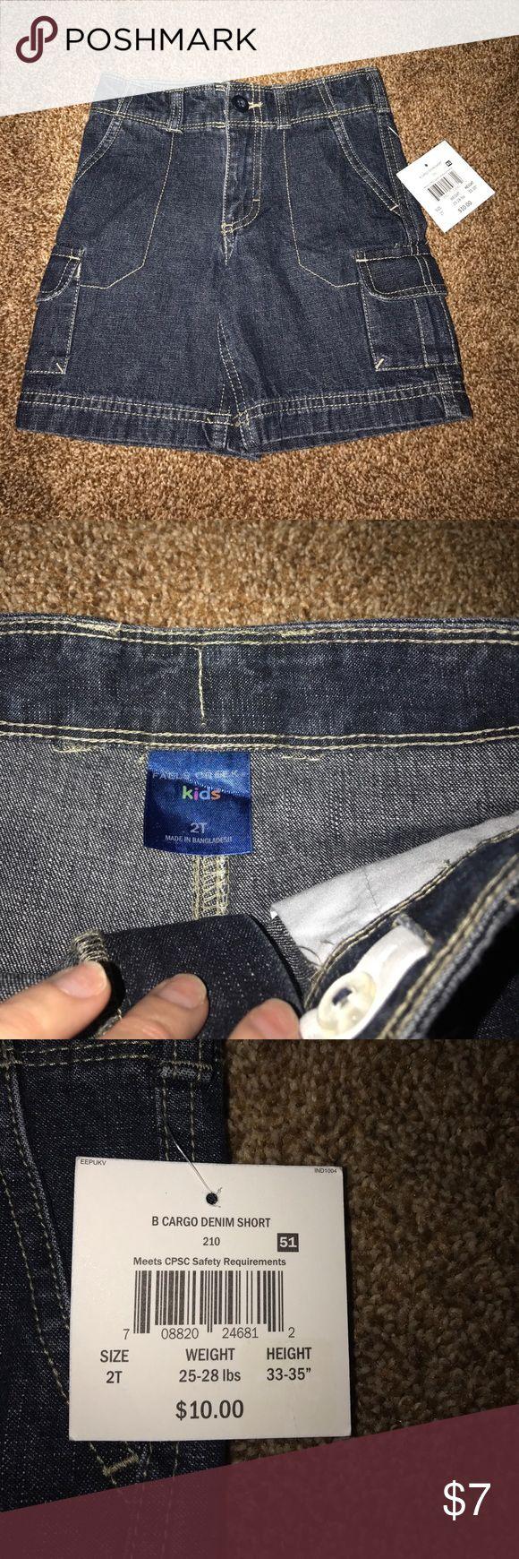 Falls creek Jean shorts Little boy size 2t jean shorts. New with tags. Original price 10.00 falls creek Bottoms Shorts