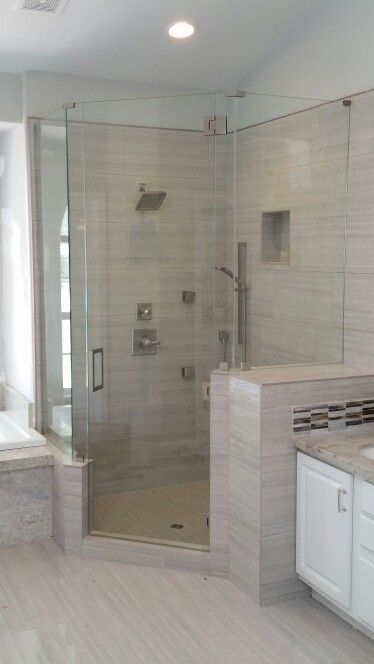 Neo angle shower, A Cut Above Glass.