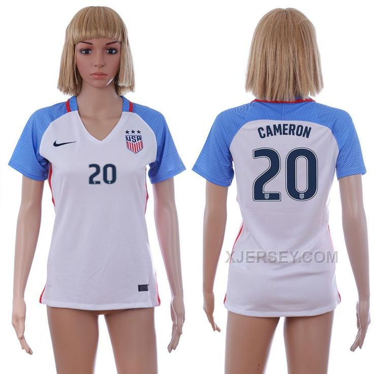 http://www.xjersey.com/201617-usa-20-cameron-home-women-soccer-jersey.html 2016-17 USA 20 CAMERON HOME WOMEN SOCCER JERSEY Only $35.00 , Free Shipping!