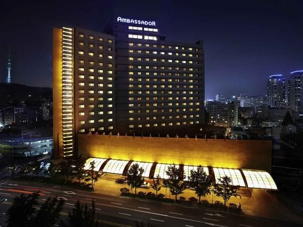 OopsnewsHotels - Grand Ambassador Seoul associated with Pullman. Grand Ambassador Seoul is located in Seoul and features an indoor pool, a Jacuzzi and miniature golf. It also provides an executive floor, a sauna and a ballroom.   The hotel has a golf course, a beauty centre and valet parking. Corporate amenities include a business centre and meeting rooms. The hotel also offers a well-equipped gym.
