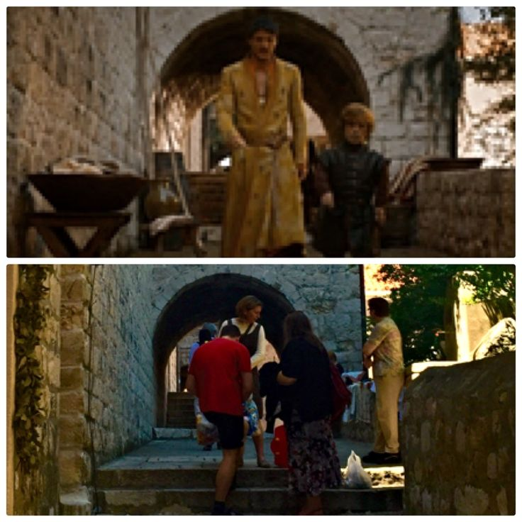 Ulica od Rupa, Littlefinger's brothel, old town Dubrovnik, Croatia