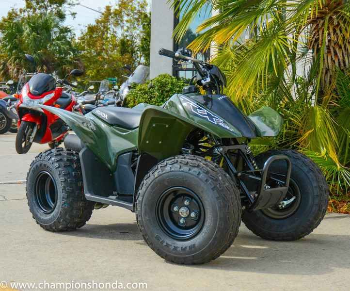 New 2017 Honda TRX90X ATVs For Sale in Florida. 2017 Honda TRX90X, 2017 Honda® TRX®90X The Start Of Something Great. Kids have a lot of choices today: virtual reality, role playing, reality TV, social media. Here s a novel idea, though, and one that never goes out of style: How about real reality? Like getting outdoors, in the sunshine and fresh air and the dirt every kid loves to play in? With a Honda TRX90X, the world is your sandbox. It s the entry-level ATV that s designed to be beginner…